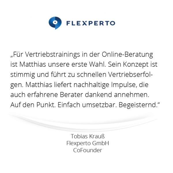 Referenz Flexperto - mindDesigner 600 x 600