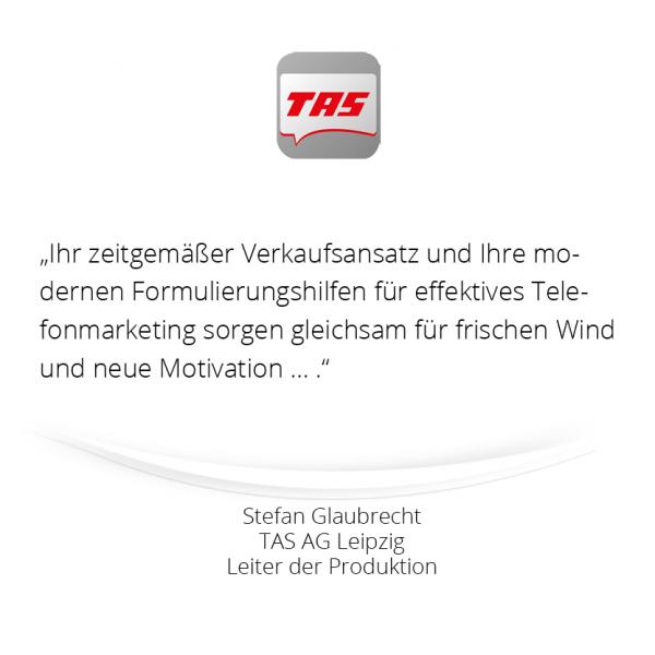 Referenz TAS AG - mindDesigner 600 x 600